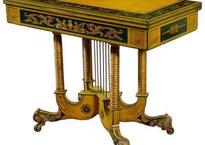 classical-gilt-painted-games-table