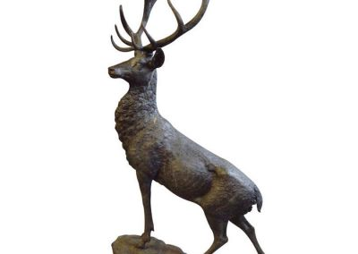 stag-bronze
