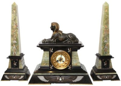 vict-3pc-egyptian-revival-clock